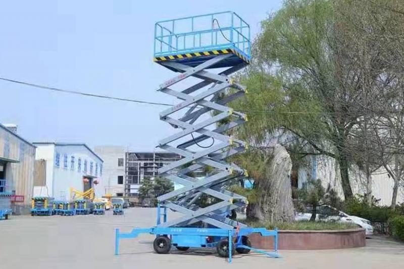 山西自行走式升降平台