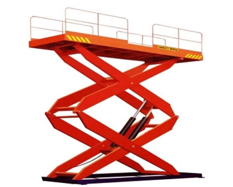 自行式升降机组成部分:
